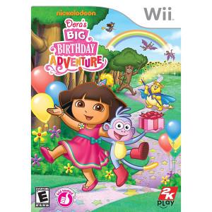 Dora's Big Birthday Adventure Video Game for Nintendo Wii