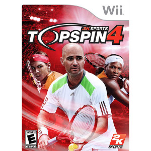 Top Spin 4 Video Game for Nintendo Wii