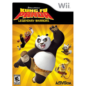 Kung Fu Panda Legendary Warriors Video Game for Nintendo Wii