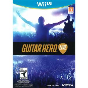 Guitar Hero Live Video Game for Nintendo Wii U