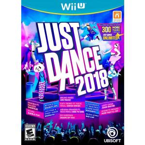 Just Dance 2018 Video Game for Nintendo Wii U