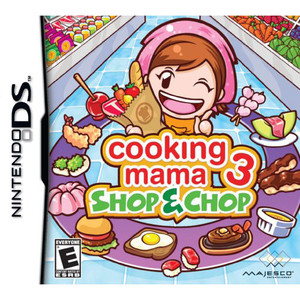 Cooking Mama 3 Shop & Chop Video Game for Nintendo DS