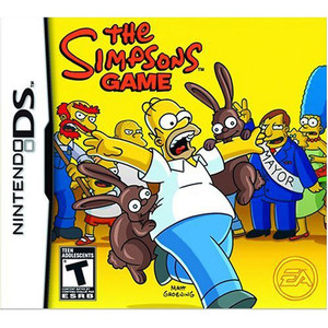 The Simpsons Game Video Game for Nintendo DS
