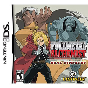Fullmetal Alchemist Dual Sympathy Video Game for Nintendo DS
