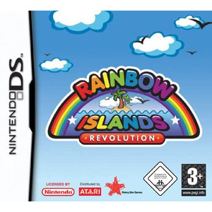 Rainbow Islands Revolution Video Game for Nintendo DS