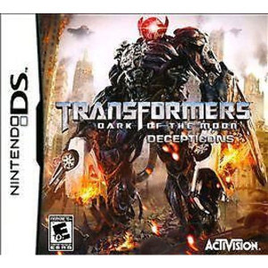 Transformers Dark of the Moon Decepticons Video Game for Nintendo DS