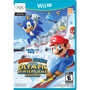 Mario & Sonic at the Olympic Winter Games Sochi 2014 Video Game for Nintendo WIi U