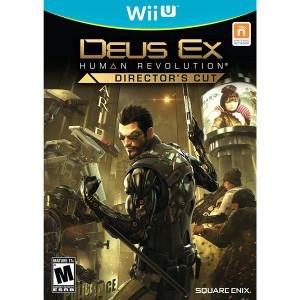 Deus Ex Human Revolution Director's Cut Video Game for Nintendo WIi U