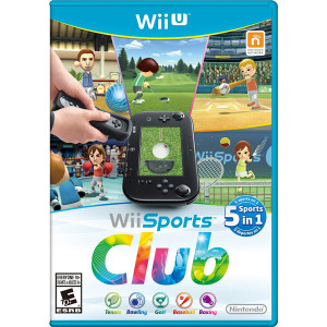 Wii Sports Club Video Game for Nintendo WIi U