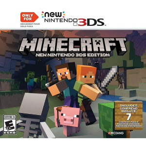 Minecraft Video Game for Nintendo Gen 2 3DS