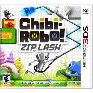 Chibi-Robo! Zip Lash Video Game for Nintendo 3DS