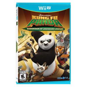 Kung Fu Panda Showdown of Legendary Legends Video Game for Nintendo WIi U