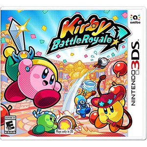 Kirby Battle Royale Video Game for Nintendo 3DS