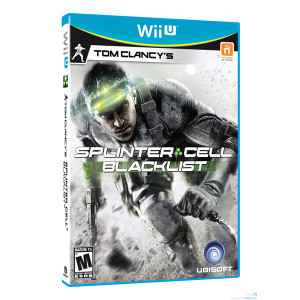 Splinter Cell Blacklist Video Game for Nintendo Wii U