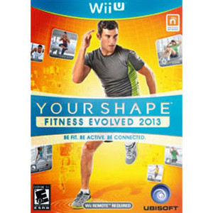 Your Shape Fitness Evolved 2013 Video Game for Nintendo Wii U