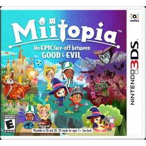 Miitopia Video Game for Nintendo 3DS