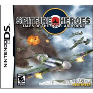 Spitfire Heroes Tales of the Royal Air Force Video Game for Nintendo DS