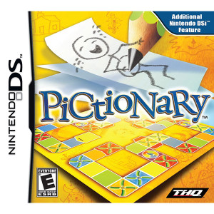 Pictionary Video Game for Nintendo DS