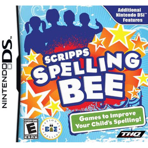 Scripps Spelling Bee Video Game for Nintendo DS
