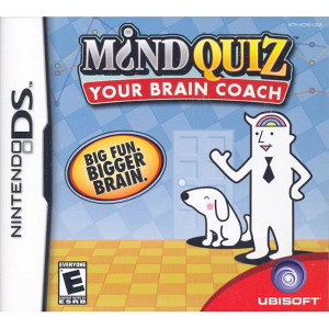 Mind Quiz Your Brain Coach Video Game for Nintendo DS