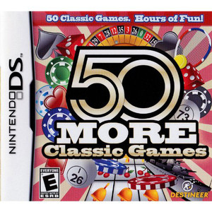 50 More Classic Games Video Game for Nintendo DS