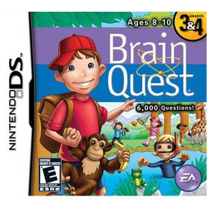 Brain Quest Grades 3 & 4 Video Game for Nintendo DS