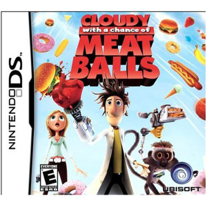 Cloudy with a Chance of Meatballs Video Game for Nintendo DS