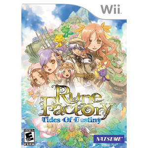 Rune Factory: Tides of Destiny Video Game for Nintendo Wii