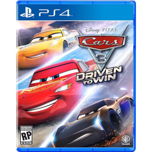 Cars 3 Driven to Win Video Game for Sony PlayStation 4