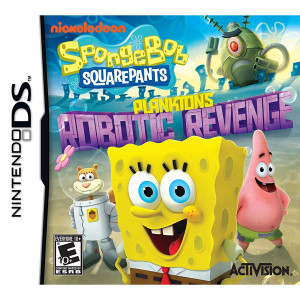 Spongebob Squarepants Plankton's Robotic Revenge Video Game for Nintendo DS