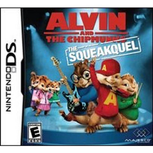 Alvin and the Chipmunks the Squeakquel Video Game for Nintendo DS