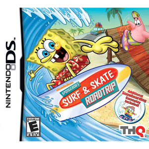 Spongebob's Surf & Skate Roadtrip Video Game for Nintendo DS