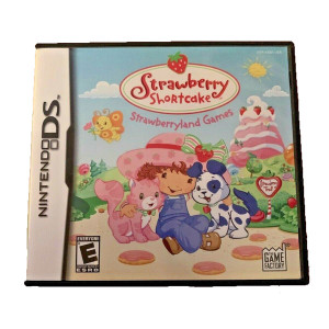 Strawberry Shortcake Strawberryland Games Video Game for Nintendo DS