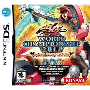 Yu-Gi-Oh 5D's World Championship 2011 Over The Nexus Video Game for Nintendo DS