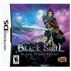 Black Sigil Blade of the Exiled Video Game for Nintendo DS