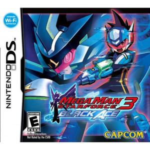 Mega Man Star Force 3 Black Ace Video Game for Nintendo DS Game