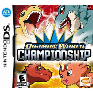 Digimon World Championship Video Game for Nintendo DS