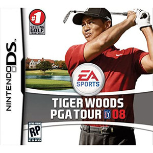 Tiger Woods PGA Tour 08 Video Game for Nintendo DS
