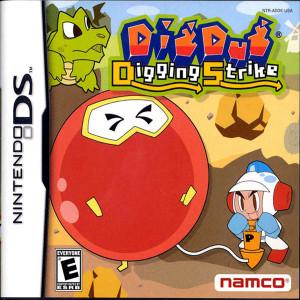 Dig Dug Digging Strike Video Game for Nintendo DS
