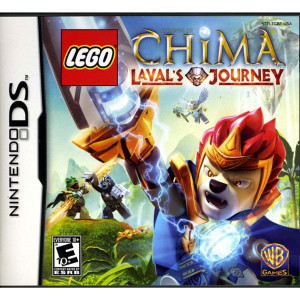 Lego Legends of Chima Laval's Journey Video Game for Nintendo DS