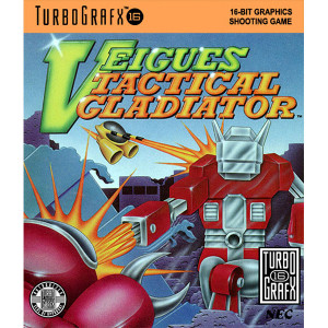 Veigues Tactical Gladiator Video Game for TurboGrafx16