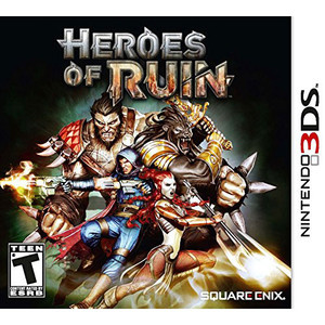 Heroes of Ruin Video Game for Nintendo 3DS