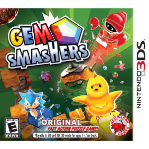 Gem Smashers Video Game for Nintendo 3DS