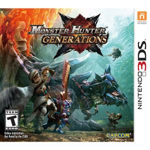 Monster Hunter Generations Video Game for Nintendo 3DS