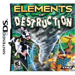 Elements of Destruction Video Game for Nintendo DS