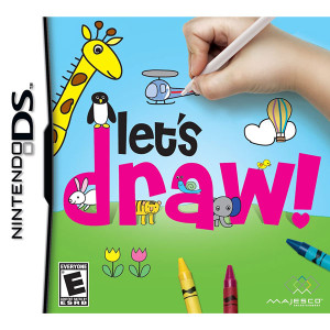 Let's Draw! Video Game for Nintendo DS