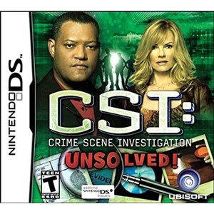 CSI: Unsolved! Video Game for Nintendo DS
