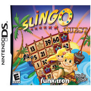 Slingo Quest Video Game for Nintendo DS