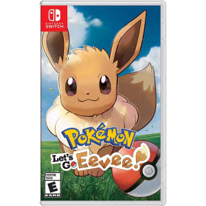 Let's Go Eevee! Video Game for Nintendo Switch