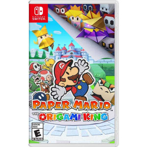 Paper Mario Origami King Video Game for Nintendo Switch